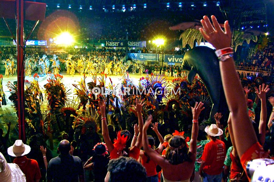 Festival Folclórico de Parintins. Amazonas.  2004. Foto de Flávio Bacellar.