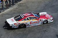 May 20, 2012; Topeka, KS, USA: NHRA pro stock driver Greg Anderson during the Summer Nationals at Heartland Park Topeka. Mandatory Credit: Mark J. Rebilas-