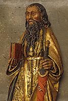 Europe/France/Auvergne/63/Puy-de-Dôme/Clermont-Ferrand: Cathédrale Notre-Dame-de-l'Assomption - Détail statue de Saint Paul