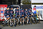 Alpecin Fenix at sign on for the 73rd edition of Kuurne-Brussel-Kuurne 2021 running 197km from Kuurne to Kuurne, Belgium. 28th February 2021  <br /> Picture: Serge Waldbillig | Cyclefile<br /> <br /> All photos usage must carry mandatory copyright credit (© Cyclefile | Serge Waldbillig)