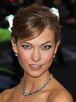 """NEW YORK CITY, NY, USA - MAY 05: Karlie Kloss at the """"Charles James: Beyond Fashion"""" Costume Institute Gala held at the Metropolitan Museum of Art on May 5, 2014 in New York City, New York, United States. (Photo by Xavier Collin/Celebrity Monitor)"""