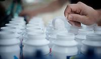 2013 Giro d'Italia.restday 1 with Team Lotto-Belisol ..isotone powder
