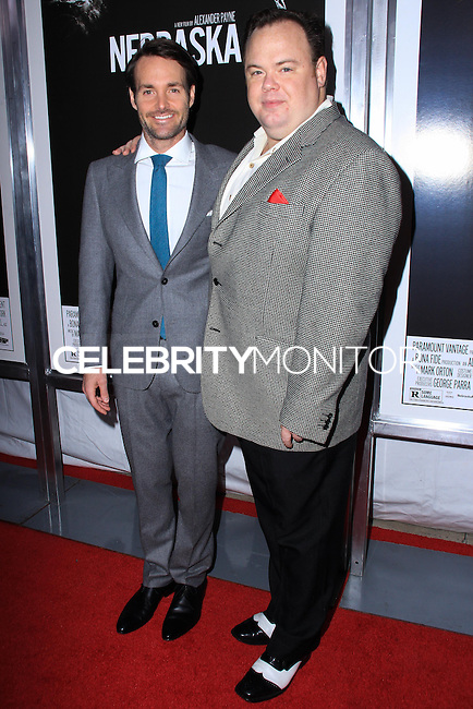 """NEW YORK, NY - NOVEMBER 06: Will Forte, Devin Ratray New York Special Screening of Paramount Pictures' """"Nebraska"""" held at Paris Theater on November 6, 2013 in New York City. (Photo by Jeffery Duran/Celebrity Monitor)"""