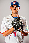 Lo, Ching-Lung of Team Chinese Taipei poses during WBC Photo Day on February 25, 2013 in Taichung, Taiwan. Photo by Victor Fraile / The Power of Sport Images