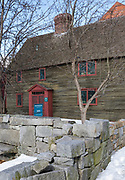 Samuel Pickman House in Salem, Massachusetts. Built in 1664, and restored by Historic Salem in 1969, and purchased by the Peabody Essex Museum in 1983, the Samuel Pickman House is one of Salem's oldest buildings.
