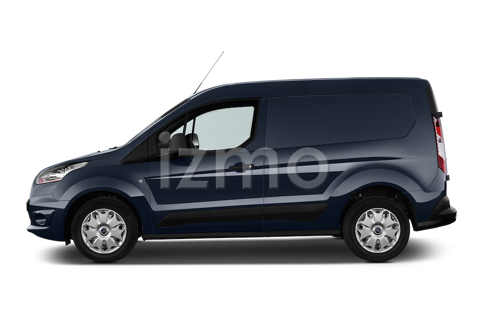 Driver side profile view of a 2014 Ford Transit Connect Trend 5 Door Minivan 2WD