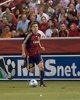 Real Salt Lake midfielder Will Johnson (8). Real Salt Lake tied the Colorado Rockies, 1-1, at Rio Tinto Stadium on June 6, 2009.