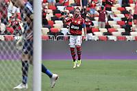 3rd October 2021; Maracana Stadium, Rio de Janeiro, Brazil; Brazilian Serie A, Flamengo versus Athletico Paranaense; Éverton Ribeiro of Flamengo celebrates his goal in the 5th minute for 1-0