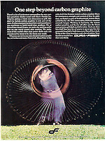 Dura-Fiber Golf Club ad for Norman Clasen Agency. Photo by John G. Zimmerman, 1974.
