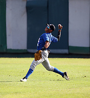 Gabriel Martinez participates in the MLB International Showcase at Estadio Quisqeya on February 22-23, 2017 in Santo Domingo, Dominican Republic.