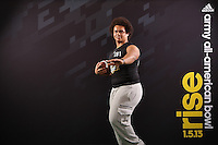 SAN ANTONIO, TX - JANUARY 3, 2013: The 2013 Army All-American Bowl National Combine Registration. (Photo by Jeff Huehn)