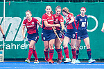Krefeld, Germany, August 29: During the women final fieldhockey match between Mannheimer HC and Duesseldorfer HC on August 29, 2021 at the 1. Liga-Cup at Crefelder HTC in Krefeld, Germany. (Photo by Dirk Markgraf / www.265-images.com) *** Local caption ***