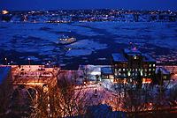 Saint-Lawrence river  <br /> <br /> PHOTO  : Guy Sabourin<br />  - Agence Quebec Presse