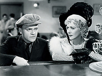 James Cagney and Gladys George in  THE ROARING TWENTIES
