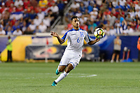 Harrison, NJ - Friday July 07, 2017: Bryan Acosta during a 2017 CONCACAF Gold Cup Group A match between the men's national teams of Honduras (HON) vs Costa Rica (CRC) at Red Bull Arena.