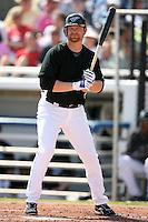 February 25, 2009:  Designated hitter Adam Lind (26) of the Toronto Blue Jays during a Spring Training game at Dunedin Stadium in Dunedin, FL.  The New York Yankees defeated the Toronto Blue Jays 6-1.   Photo by:  Mike Janes/Four Seam Images