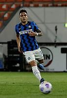 Lautaro Martinez of Inter  during the  italian serie a soccer match,Spezia Inter Milan at  the STadio Picco in La Spezia Italy ,