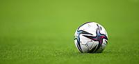 21st September 2021; Hampden Park, Glasgow, Scotland: FIFA Womens World Cup qualifying, Scotland versus Faroe Islands; The match ball during the game