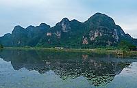 Ninh Binh landscape, Vietnam