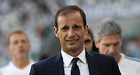 Calcio, Serie A: Torino, Allianz Stadium, 19 agosto 2017. <br /> Juventus' coach Massimiliano Allegri looks on before the Italian Serie A football match between Juventus and Cagliari at Torino's Allianz Stadium, August 19, 2017.<br /> UPDATE IMAGES PRESS/Isabella Bonotto