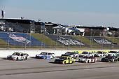 #98: Chase Briscoe, Stewart-Haas Racing, Ford Mustang Ford Performance Racing School, #22: Austin Cindric, Team Penske, Ford Mustang, #19: Brandon Jones, Joe Gibbs Racing, Toyota Supra Menards/Swiffer, #20: Harrison Burton, Joe Gibbs Racing, Toyota Supra DEX Imaging