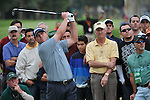 Feb 22, 2009: A focused Steve Stricker at the Northern Trust Open 2009 in the Pacific Palisades, California.