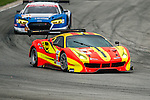 Team BBT, #37 Ferrari 488 GT3, driven by Anthony Liu, Davide Rizzo and Alessandro Pier Guidi in action during the Free Practice 1 of the 2016-2017 Asian Le Mans Series Round 1 at Zhuhai Circuit on 29 October 2016, Zhuhai, China.  Photo by Marcio Machado / Power Sport Images
