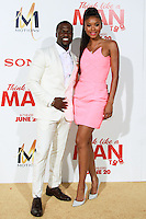 HOLLYWOOD, LOS ANGELES, CA, USA - JUNE 09: Kevin Hart, Eniko Parrish at the Los Angeles Premiere Of Screen Gems' 'Think Like A Man Too' held at the TCL Chinese Theatre on June 9, 2014 in Hollywood, Los Angeles, California, United States. (Photo by David Acosta/Celebrity Monitor)