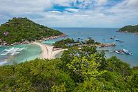 Thailand, Koh Nangyuan Island.