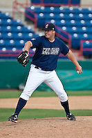 April 11th 2010: Brandon Ritchie of the Brevard County Manatees, the Florida State League High-A affiliate of the Milwaukee Brewers in a game against the of the Daytona Cubs, the Florida State League High-A affiliate of the Chicago Cubs at Space Coast Stadium in Viera, FL (Photo By Scott Jontes/Four Seam Images)
