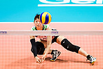 Kotoe Inoue of Japan in action during the match between China and Japan on May 30, 2018 in Hong Kong, Hong Kong. (Photo by Power Sport Images/Getty Images)