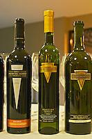 Bottle of Reserva Malbec Semillon tardio sweet late harvest, and sauvignon blanc Bodega Del Fin Del Mundo - The End of the World - Neuquen, Patagonia, Argentina, South America