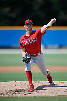 Philadelphia Phillies pitcher Brandon Leibrandt (37) during an Instructional League game against the Toronto Blue Jays on September 27, 2019 at Englebert Complex in Dunedin, Florida.  (Mike Janes/Four Seam Images)