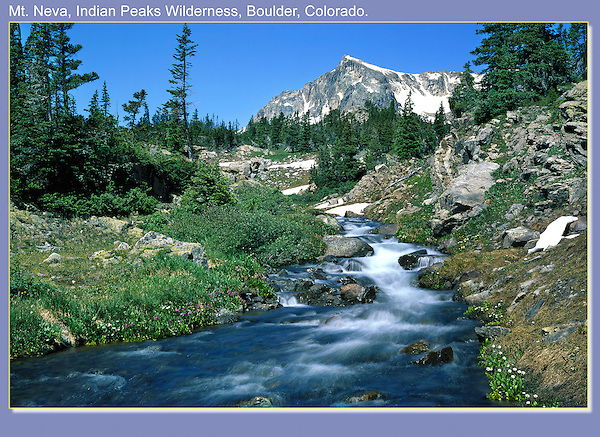 Mount Neva, Indian Peaks Wilderness Area.<br /> John leads private photo tours throughout Colorado. Year-round.