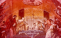 Venezia: Basilica San Marco--Veneration of  St. Mark's Body.