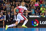 League LNFS 2018/2019.<br /> PlayOff Final. 1er. partido.<br /> FC Barcelona Lassa vs El Pozo Murcia: 7-2.<br /> Pito.