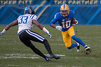 Pitt wide receiver Quadree Henderson. The Pitt Panther defeated the Duke Blue Devils 56-14 at Heinz Field in Pittsburgh, Pennsylvania on November 19, 2016.