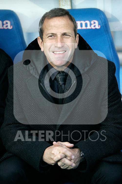 Getafe's coach Victor Munoz during La Liga match, December 14, 2008. (ALTERPHOTOS).