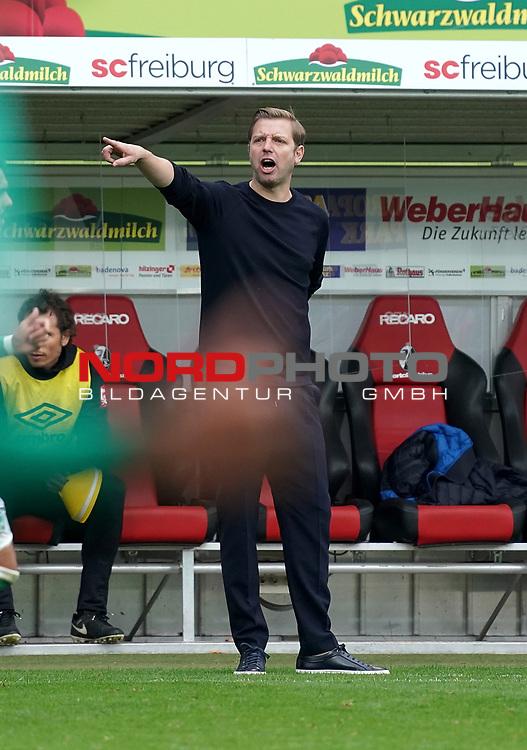 17.10.2020, Schwarzwald Stadion, Freiburg, GER, 1.FBL, SC Freiburg vs SV Werder Bremen<br /> <br /> im Bild / picture shows<br /> Trainer Florian Kohfeldt (Bremen)<br /> Foto © nordphoto / Bratic<br /> <br /> DFL REGULATIONS PROHIBIT ANY USE OF PHOTOGRAPHS AS IMAGE SEQUENCES AND/OR QUASI-VIDEO.