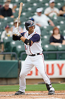 Esposito, Brian 0037.jpg. Memphis Redbirds at Round Rock Express in Pacific Coast League Baseball. Dell Diamond on April 26th 2009 in Round Rock, Texas. Photo by Andrew Woolley.