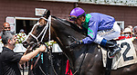 July 17, 2021: Neuro #2, ridden by jockey Javier Castellano, wins the first race on Diana Day at Saratoga Race Course in Saratoga Springs, New York on July 17, 2021. Rob Simmons/Eclipse Sportswire/CSM