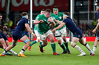 Saturday 1st February 2020 | Ireland vs Scotland<br /> <br /> Tadhg Furlong during the 2020 6 Nations Championship   clash between Ireland and Scotland at he Aviva Stadium, Lansdowne Road, Dublin, Ireland. Photo by John Dickson / DICKSONDIGITAL