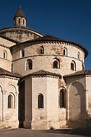 Europe/Europe/France/Midi-Pyrénées/46/Lot/Souillac: Chevet de Eglise Abbatiale Sainte-Marie de Souillac