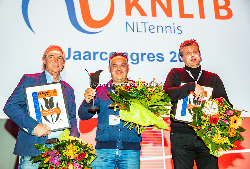 Nieuwegein,  Netherlands, 24 November 2018, KNLTB Year congress KNLTB, Tournament off the year: TV De Mos (M)<br /> Photo: Tennisimages.com/Henk Koster