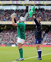 Sunday10th March 2019 | Ireland vs France<br /> <br /> Rory Best during the Guinness 6 Nations clash between Ireland and France at the Aviva Stadium, Lansdowne Road, Dublin, Ireland. Photo by John Dickson / DICKSONDIGITAL