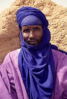 Agadez, Niger, West Africa.  Musa, Caretaker of the Mosque of Agadez.