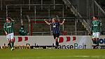 13.01.2021, xtgx, Fussball 3. Liga, VfB Luebeck - SV Waldhof Mannheim emspor, v.l. Marcel Seegert (Mannheim, 5) Jubel ueber den Sieg, Jubel nach Spielende <br /> <br /> (DFL/DFB REGULATIONS PROHIBIT ANY USE OF PHOTOGRAPHS as IMAGE SEQUENCES and/or QUASI-VIDEO)<br /> <br /> Foto © PIX-Sportfotos *** Foto ist honorarpflichtig! *** Auf Anfrage in hoeherer Qualitaet/Aufloesung. Belegexemplar erbeten. Veroeffentlichung ausschliesslich fuer journalistisch-publizistische Zwecke. For editorial use only.