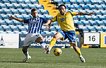 Kilmarnock v St Johnstone……15.08.20   Rugby Park  SPFL<br />Craig Conway and Calum Waters<br />Picture by Graeme Hart.<br />Copyright Perthshire Picture Agency<br />Tel: 01738 623350  Mobile: 07990 594431