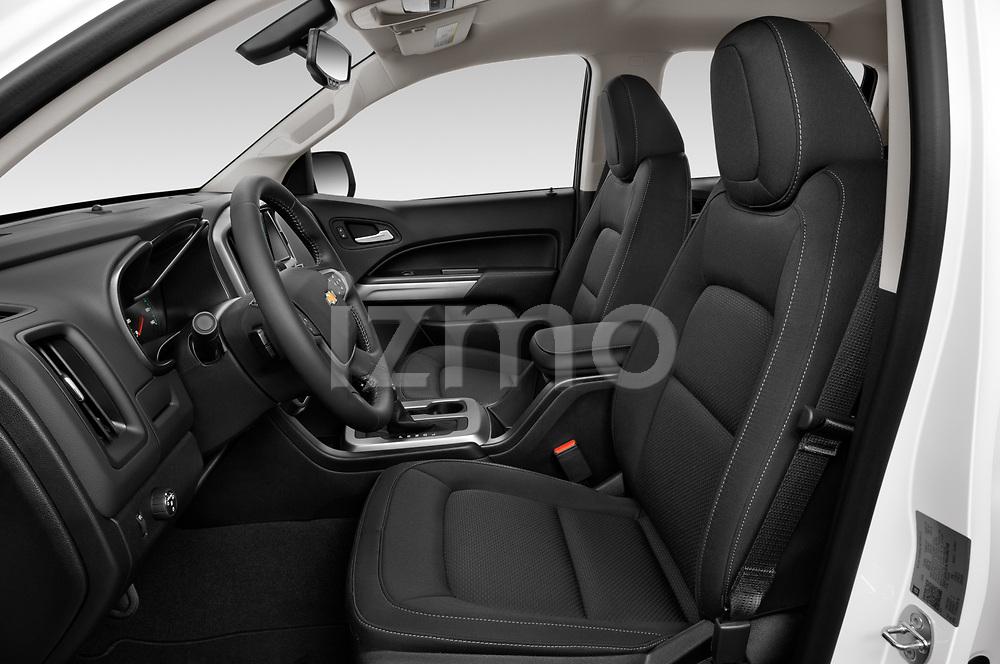 Front seat view of a 2021 Chevrolet Colorado LT 4 Door Trucks