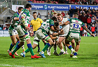 Friday 8th October 2021<br /> <br /> James Hume during the URC Round 3 clash between Ulster Rugby and Benetton Rugby at Kingspan Stadium, Ravenhill Park, Belfast, Northern Ireland. Photo by John Dickson/Dicksondigital
